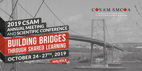 2019 CSAM Annual Meeting and Scientific Conference tickets