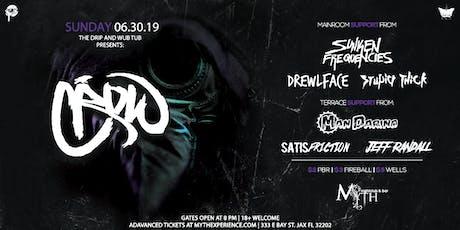 The Drip & Wub Tub Presents CROW at Myth Nightclub | Sunday 06.30.19 tickets