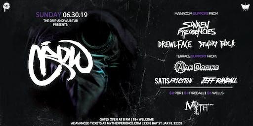 The Drip & Wub Tub Presents CROW at Myth Nightclub | Sunday 06.30.19