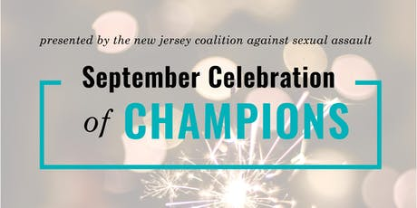 NJCASA's 2019 September Celebration of Champions tickets