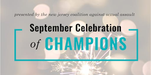 NJCASA's 2019 September Celebration of Champions