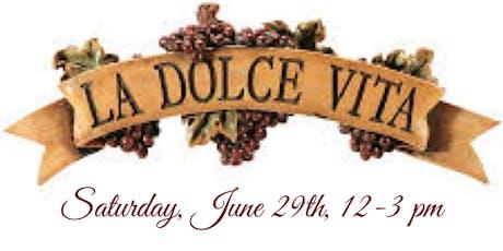 Saturday Samplings:La Dolce Vita tickets