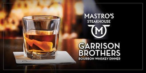 Garrison Brothers Dinner - Mastro's Chicago