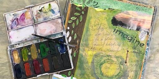 1 Half Day: Visual Journals w/ Debi West