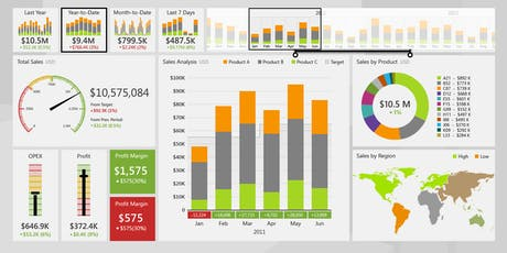 Creating Dashboards with Excel: Data Visualisation for Business Reporting tickets
