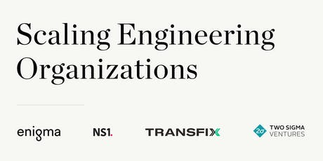 Scaling Engineering Organizations tickets