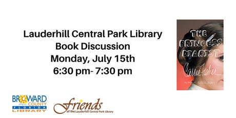 Lauderhill Central Park Library Book Discussion: The Princess Diarist tickets