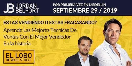 Jordan Belfort: Por Primera vez En Medellin (Primera Conferencia) boletos