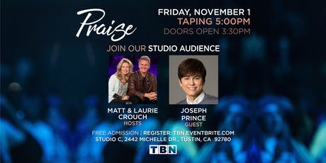 CA - Joseph Prince with Matt & Laurie Crouch tickets