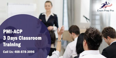 PMI-ACP 3 Days Classroom Training in Jefferson City,MO tickets