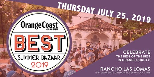 Orange Coast Magazine's Best of 2019 Party