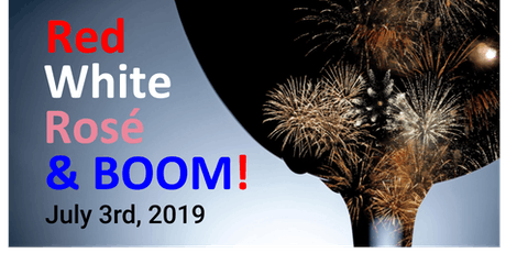 2019 Red, White, Rosé & Boom! tickets