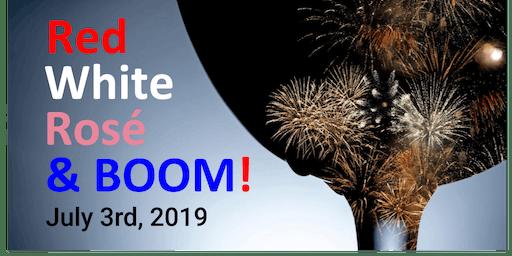 2019 Red, White, Rosé & Boom!