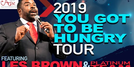Les Brown Hungry Tour- HOUSTON tickets