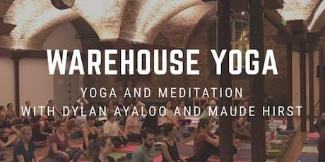 Warehouse Yoga tickets