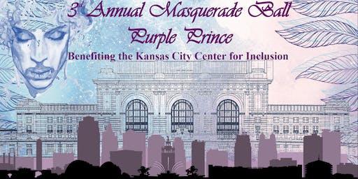 3rd Annual Masquerade Ball Purple Prince Benefiting KCCI