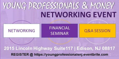 Young Professionals and Money- NJ tickets