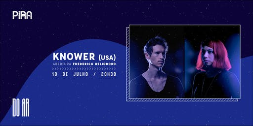 DO AR apresenta KNOWER