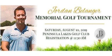 Jordan Belanger Memorial Golf Tournament tickets