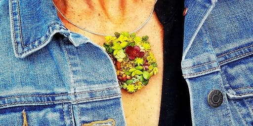 Succulent Jewelry Workshop at Eppig Brewing