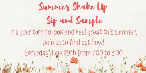 Summer Shake Up Sip and Sample