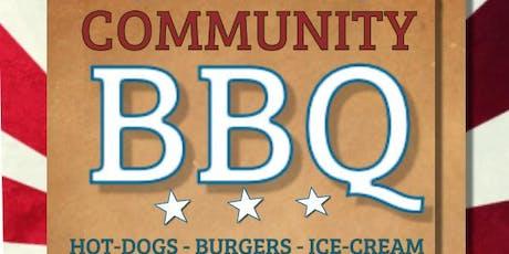 Community BBQ tickets