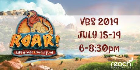 ROAR 2019 VBS tickets