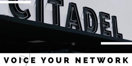 Voice Your Network tickets