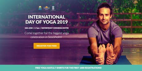 Come together to celebrate The International Yoga Day  in Stockholm! tickets