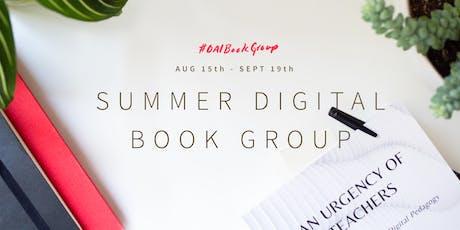 Summer Digital Book Group tickets