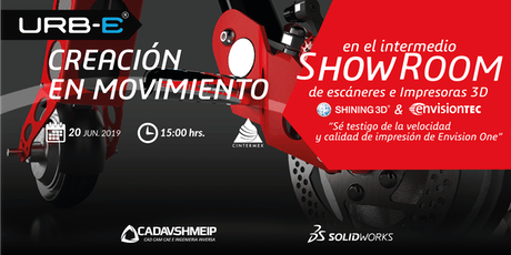 Evento SolidWorks - URB-E Monterrey tickets