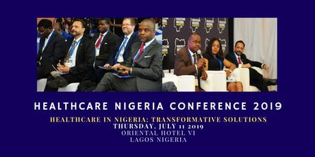 HEALTHCARE NIGERIA CONFERENCE AND EXHIBITIONS 2019  tickets