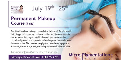 FUNDAMENTAL PERMANENT MAKEUP / MICROBLADING COURSE : $5690.00