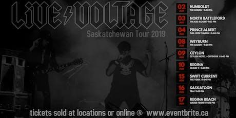 Live Voltage AC/.DC Tribute Regina Bach tickets