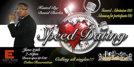 Speed Dating with David Charles tickets