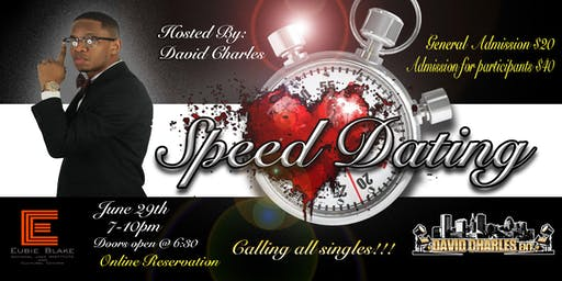 Speed Dating with David Charles