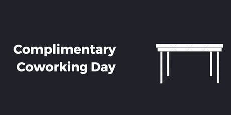 Complimentary Coworking Day at Alley powered by Verizon Palo Alto - Tuesday Takeovers tickets
