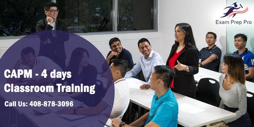 CAPM - 4 days Classroom Training  in San Francisco, CA