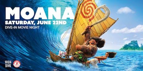Moana Dive-In Movie Night tickets