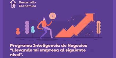 """Programa de Inteligencia de Negocios """"Llevando mi empresa al siguiente nivel"""""""