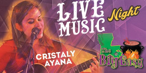 Christaly Ayana Performing Live on The Big Easy Stage