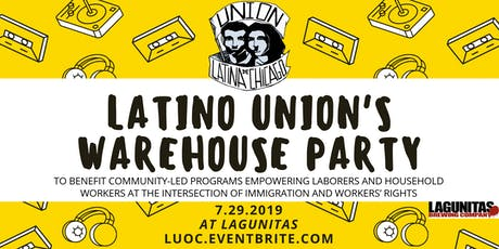 Latino Union's Warehouse Party tickets