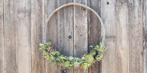 Succulent Wreath Making Workshop