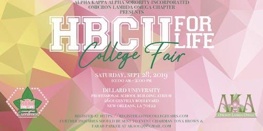 HBCU for Life College Fair 2019