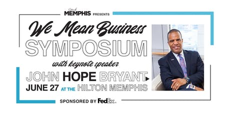 We Mean Business Symposium 2019 tickets
