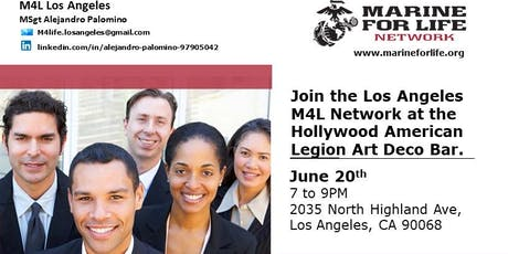 Marine For Life Networking Mixer tickets