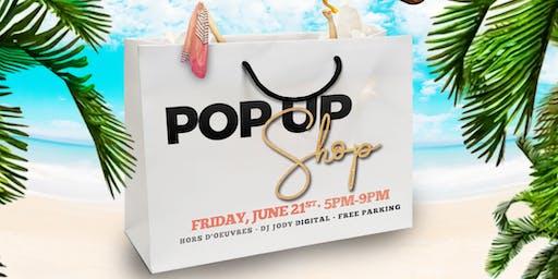 First Day of Summer Pop Up Shop