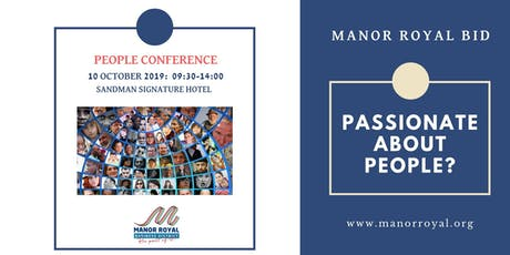 Manor Royal People Conference 2019 tickets