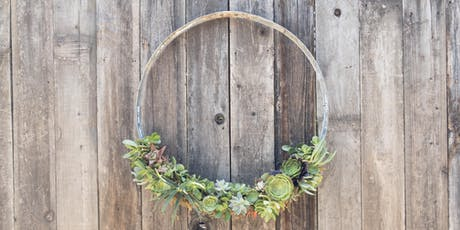 Succulent Wreath Making Workshop tickets