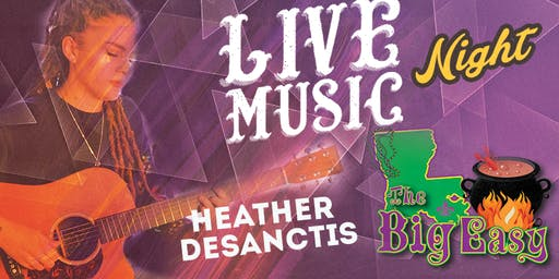 Heather DeSanctis Performing Live on The Big Easy Stage